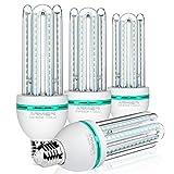 LED Lampen E27 20W,ersetzt 150W Glühbirnen,Kaltweiss 6000K,Nicht Dimmbar Energiesparlampe,1700 lumen LED-Leuchtmittel, 360 Grad Abstrahlwinkel,LED Birnen,4 er Pack