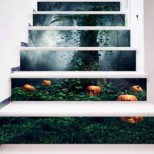 DFGTHRTHRT 3D Simulation Treppenaufkleber entfernbare Wasserdichte Wandaufkleber Schlafzimmer Wohnzimmer DIY Tapete Wandabziehbilder (Color : WLT011, Size : OneSize)