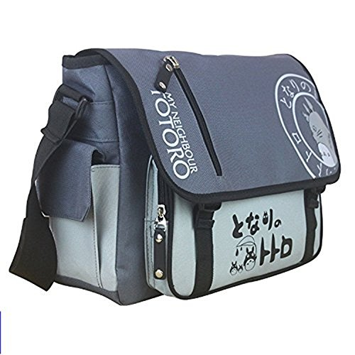 Anime My Neighbor Totoro Canvas Messenger Bag Single-shoulder Bag Anime