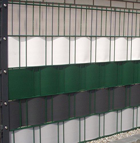 sichtschutz windschutz hart pvc streifen zaun blende zum einflechten sichtschutzstreifen. Black Bedroom Furniture Sets. Home Design Ideas