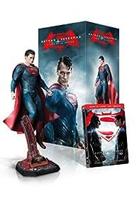 Batman v Superman: L'Aube de la Justice (version longue) - Edition ultime collector (incluse la Statue de Superman) Bluray 3D + Bluray 2D [Edition limitée] [Blu-ray] [Coffret figurine Superman exclusive - Ultimate Edition - Blu-ray 3D + Blu-ray 2D + DVD + Copie digitale UltraViolet]