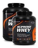 SRS Muscle - Supreme Whey XXL, 1.900 g, Vanille | Hydro-optimized Whey Protein | mit Enzym Laktase und Pro-B Vitaminen | aspartamfrei | deutsche Premiumqualität