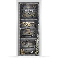 Vinilo para Puerta   Stickers Door   Pegatina Puerta   Weapons (204x83)