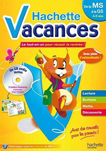 Hachette Vacances MS/GS par Ann Rocard