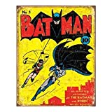 Batman No.1 Cover Tin Sign Tin Sign 13 x 16in by Tin Signs