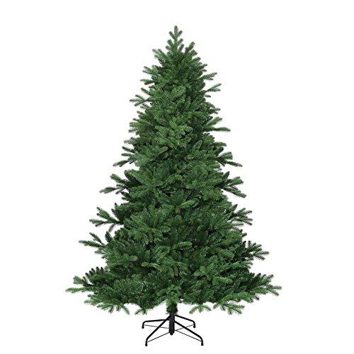 Black Box Trees 382757-02 Künstlicher Weihnachtsbaum Kiowa, Höhe 215 cm, Durchmesser 142 cm, 1992 zweige, PE Nadel