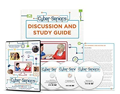 Cyber-seniors Documentary Special Edition 3-disc Set with Public Performance License by Saffron Cassaday