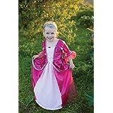 Disfraz Vestido de Duquesa Niña Talla L (7-8 Años) en Fucsia de Trullala