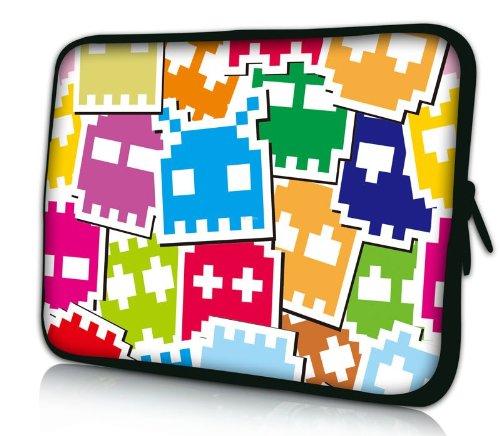 """Sidorenko Designer Laptoptasche Notebooktasche Sleeve Größe 43,9cm von 17"""" bis 17,3"""" Zoll Neopren Schutzhülle"""