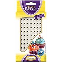 Günthart BackDecor kleine Augen aus Zucker   63 Zucker Augen für Tortendeko   Cupcake   Monstercupcake