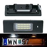 DoLED X02 LED Kennzeichenbeleuchtung mit E-Prüfzeichen Xenon Optik