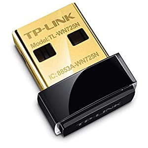 TP-Link TL-WN725N 150Mbps Wireless N Nano USB Adapter (Black)