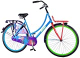 SALUTONI Omafahrrad Damen Hurrachi 28 Zoll Holland Fahrrad 50 cm 95% zusammengebaut