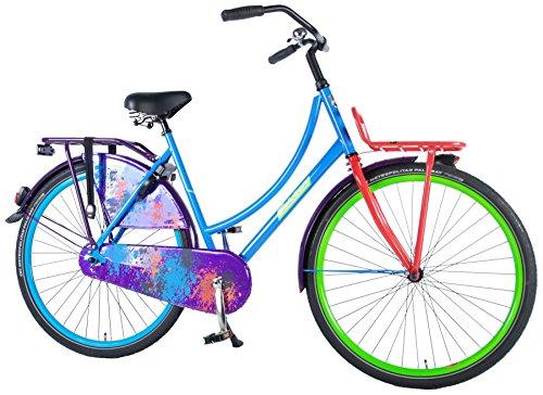 SALUTONI Omafahrrad Damen Hurrachi 28 Zoll Holland Fahrrad 50 cm 95{784b3b7f29aa59a8048c8e67f6920a3b8c0d46ab6b5c5cf849e903c7d8b6ea58} zusammengebaut