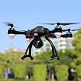 flower205Drone for SONGYANG x34°C Double GPS Auto Sigue 1280* 720p Wi-Fi Map Shooting Air Zángano Headless Mode Low Power Return of Flight Return Loss
