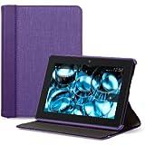 """Belkin Chambray - Funda para Kindle Fire HDX 7"""" (sólo sirve para el nuevo Kindle Fire HDX 7""""), color morado"""