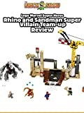 Review: Lego Super Heroes Rhino and Sandman Supervillian Team-up Review [OV]