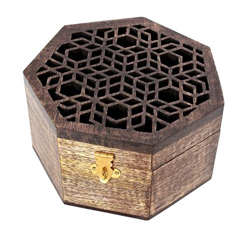 new-year-gifts-handcrafted-wooden-keepsake-storage-box-organiser-multipurpose-heptagon-shaped-with-w