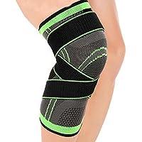 Preisvergleich für LUCHA Kniebandage, Kompressions-Kniebandage für Sport, Fußball, Basketball, Radfahren, Outdoor, UV-Schutz, mit...