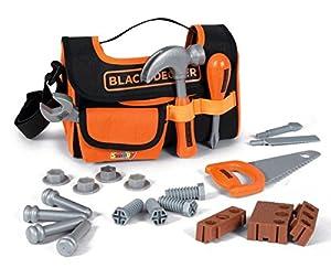 Smoby- Bolsa de Herramientas Black&Decker (360142), Color Naranja (