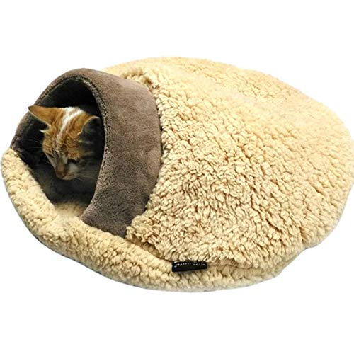 LyhomeO - Cueva de Peluche para Mascotas