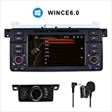 GPS DVD stereo per BMW E46 m3 Convertible BMW 3 Compact Touring 17,8 cm GPS Bluetooth radio USB SD Canbus AM FM RDS