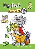 Deutsch lernen mit Mo - Teil 3: Bildwörterbuch zum Ausmalen, Üben und Spielen mit farbigen Bildkärtchen
