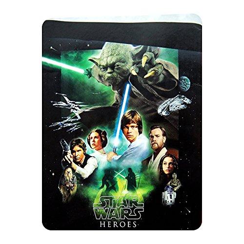 mercatohouse – Couvre-lit pour Enfant Star Wars – Produit Officiel