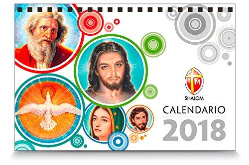 Calendario da tavolo 2018 usato  Spedito ovunque in Italia