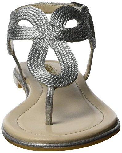 Buffalo Damen 14s0746 Fabric Zehentrenner Silber Silver