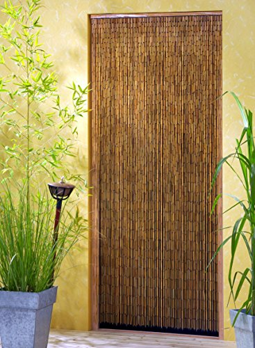 Bambusvorhang Türvorhang Saigon 90x200 cm mit 90 Strängen auf 90cm Breite