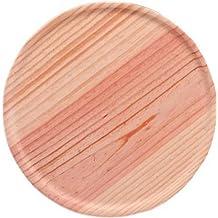 Industrias Aldaya S.L. plato pulpo, madera, marrón, 30x 18x 30cm