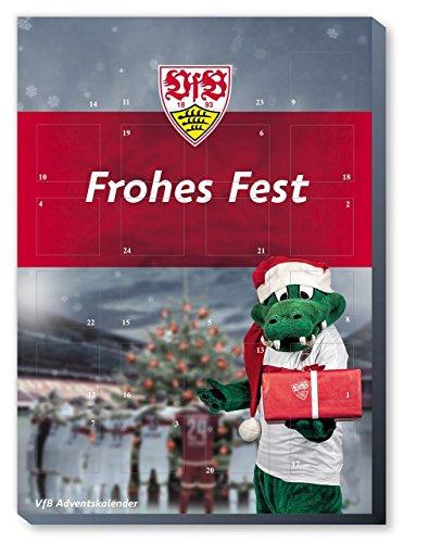 Preisvergleich Produktbild VfB Stuttgart Adventskalender, Weihnachtskalender