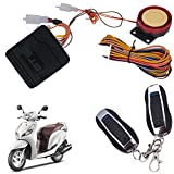 Vheelocityin Bike / Motorcycle/ Scooter Remote Start AlarmFor Honda Aviator