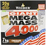 Weider Nutrition Mega Mass 4000 Chocolate 7000g by Weider