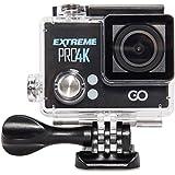 GOCLEVER DVR EXTREME 4K - Sportkamera Sportkamera 4K mit  25 Bildern pro Sekunde und drahtlosem Video-Streaming;