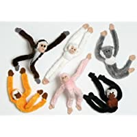 Toyland Jungle Monkey Magnet - 7 Colours - ONE CHOSEN AT RANDOM
