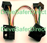 INKA-902820-83-3A ISO SOT Mute-Kabel für Parrot CK3100, CK3200, MKi9100, MKi9200 und andere ISO-Kits für die Fahrzeuge: Ford Fiesta, Ford Focus, Ford Focus US-Modell, Ford Focus C-MAX, Ford Fusion