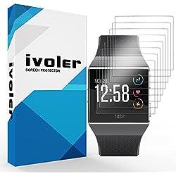 ivoler [8 Unidades] Protector de Pantalla para Fitbit Ionic