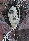 Colourful Women - Fantasy-Frauenportraits in Acryl und Mischtechnik (Wandkalender 2018 DIN A2 hoch): Figurative Malerei mit surrealistischen Elementen ... [Kalender] [Apr 13, 2017] JuPasArt, k.A.