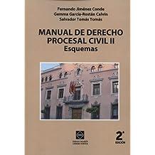 MANUAL DE DERECHO PROCESAL CIVIL II ESQUEMAS