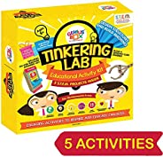 Genius Box Educational Toy for 8+ Year Age: Tinkering Lab DIY, Activity Kit, Experiment, Learning Kit, Educati