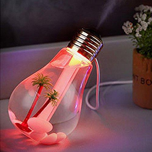 Lámpara De Mesa Creativa Humidificador Home Aroma Led Humidificador De Aire Difusor Purificador Purificador...