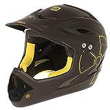 Mighty Helm Fall Out Freeride/Downhill-Helm BMX Fahrradhelm 2 Größen Fullface Freeride Integral, Grösse:M
