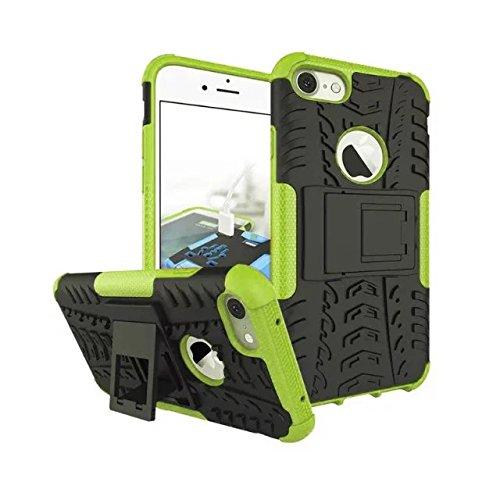 iPhone 7 Coque,Lantier 2 en 1 design Tire Series [Anti dérapant] Dual Layer Hybird Protection Goutte Defender Housseprotection pour iPhone 7 4.7 pouces rouge Tire Series Green