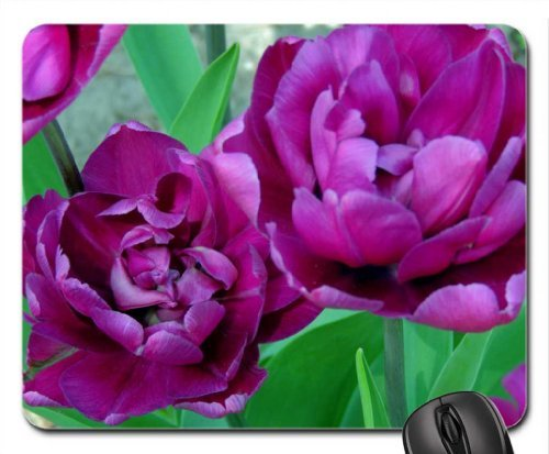 tulips-with-ruffles-mouse-pad-mousepad-flowers-mouse-pad