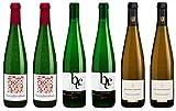 Delinat Bio Wein Probierpaket Weißweine Riesling Qualitätsweine Deutschland Rheinhessen Mosel Vegan (6 x 0.75 l)