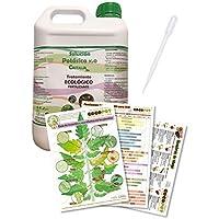 COCOPOT Kit Jabón Potásico Eco 5L. (Solución potásica) con Pipeta dosificadora y 3 láminas del huerto