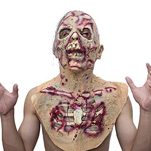 Halloween Customes Für Männer - WEISY Halloween Maske Scary Latex Zombie