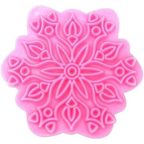 Fiocco di neve Cookie Cutter-Stampo per dolci stampi Stampo per decorazione torte
